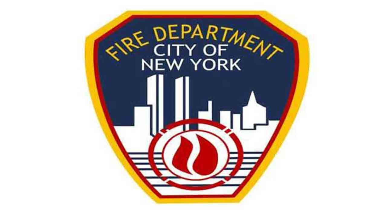 An image of the FDNY logo is seen.