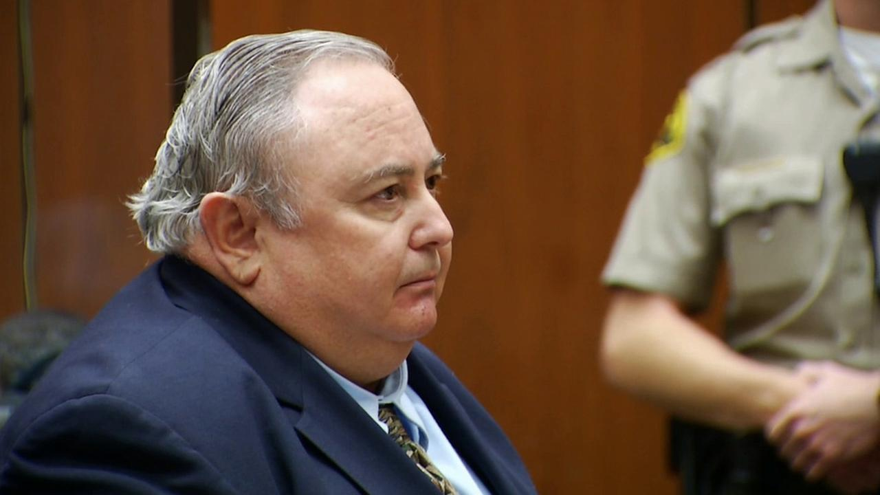 Former Bell city manager Robert Rizzo speaks at his sentencing hearing in a Los Angeles courtroom on Wednesday, April 16, 2014.