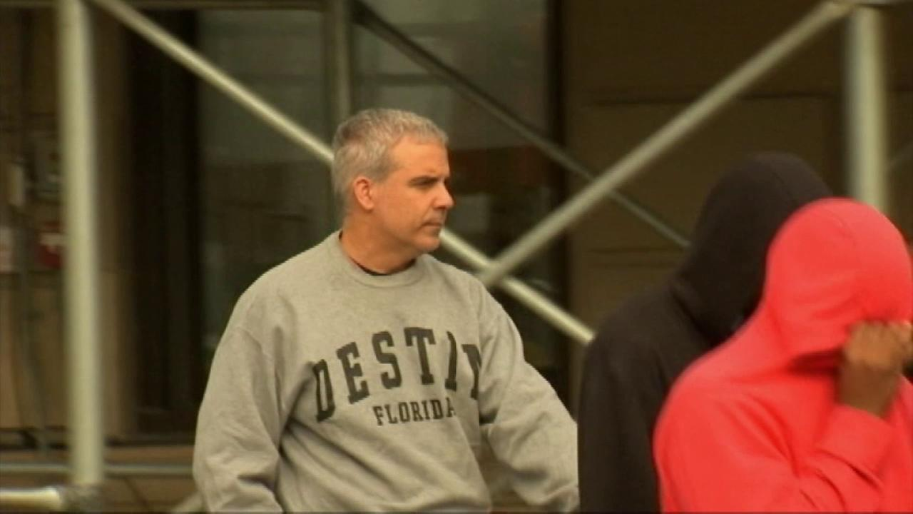 New York City Fire Capt. Wilbert Riera (left), 51, is accused of sexually molesting two young boys in Los Angeles.