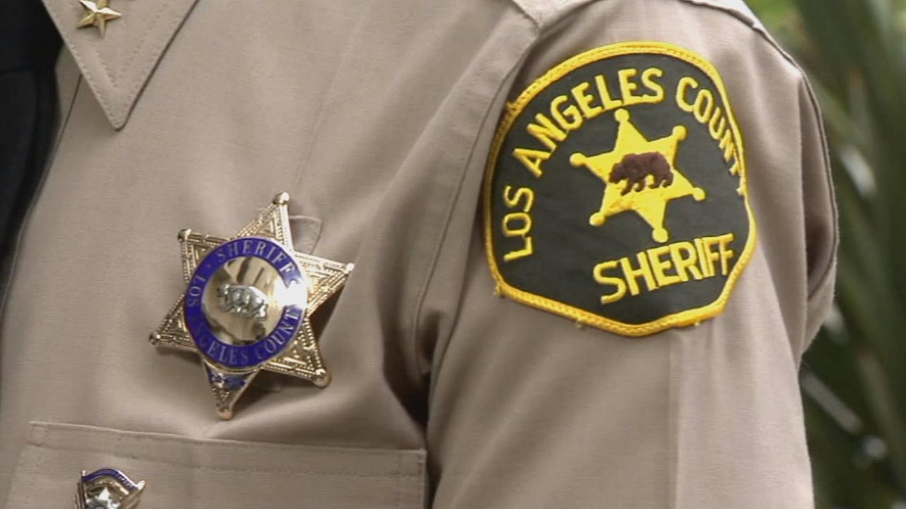 A Los Angeles County Sheriffs Department badge is seen in this undated file photo.