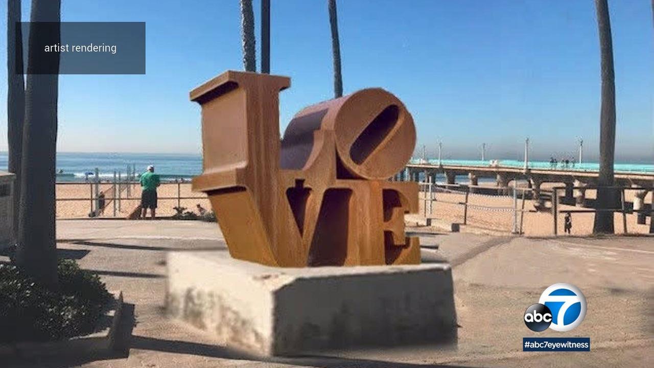 The Manhattan Beach City Council said no to putting a Love sculpture at the base of Manhattan Beach Pier.