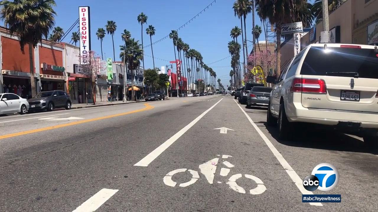 The Los Angeles City Council will look into creating a cycle track loop connecting the Wilmington communitys main areas.