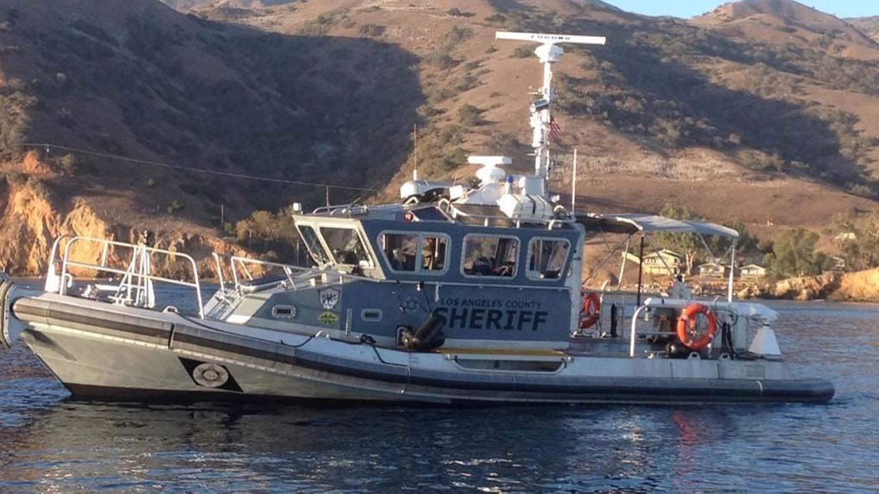 A Los Angeles County Sheriffs Department rescue boat is shown in this undated photo.