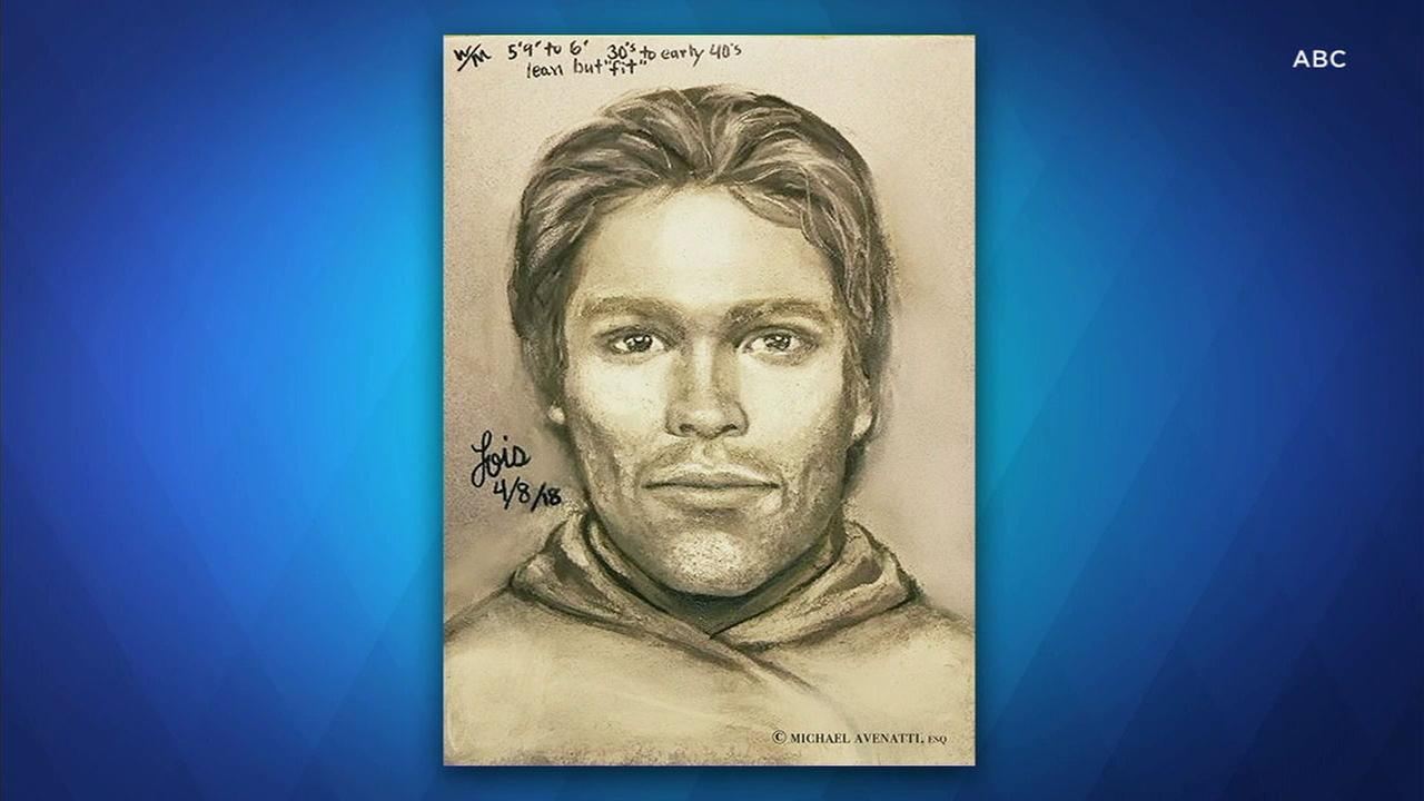 Porn star Stormy Daniels released an artists sketch of the man she says threatened her in a Las Vegas parking lot to stay quiet about her sexual tryst with Donald Trump.