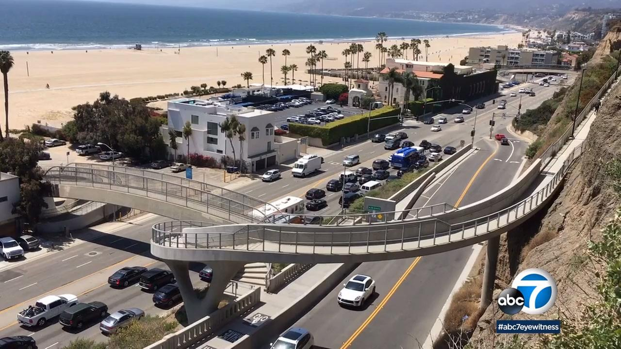 The Idaho Avenue Overcrossing in Santa Monica has been named Californias Outstanding Bikeway and Trails Project for 2017.