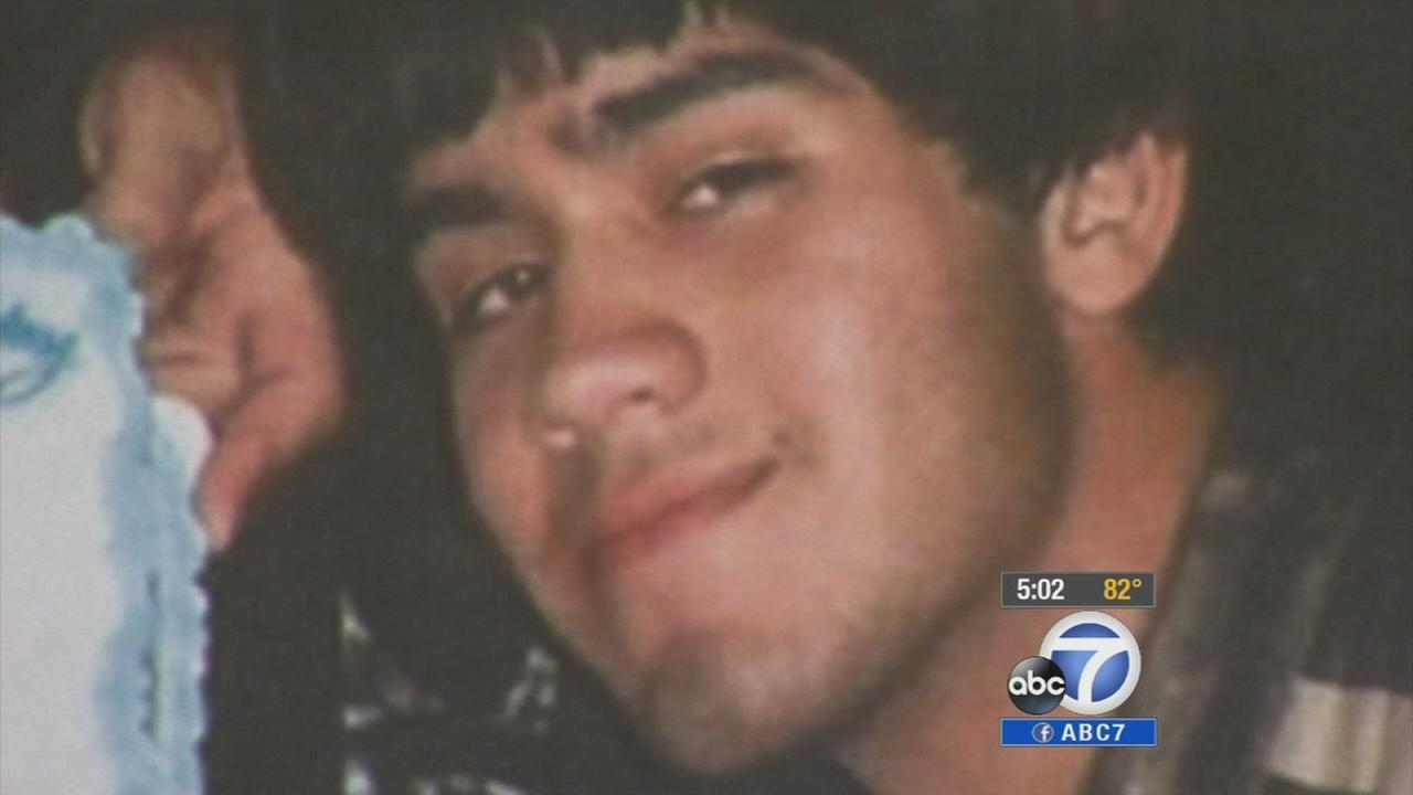 Bell Gardens Mayor Daniel Crespos son told a 911 operator his mother fatally shot his father in self-defense. The call was released to the media Tuesday, Oct. 7, 2014.