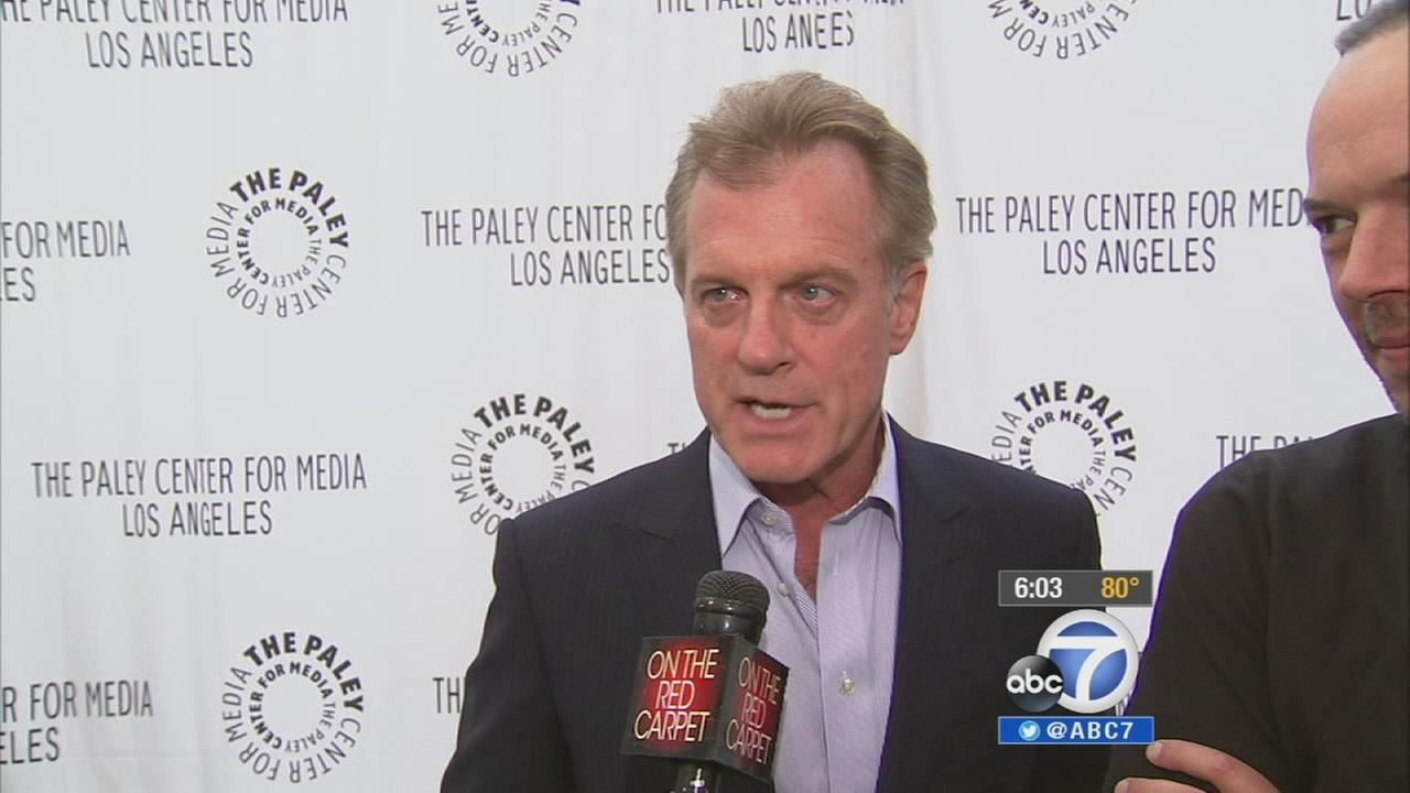 Stephen Collins is seen in this undated file photo.
