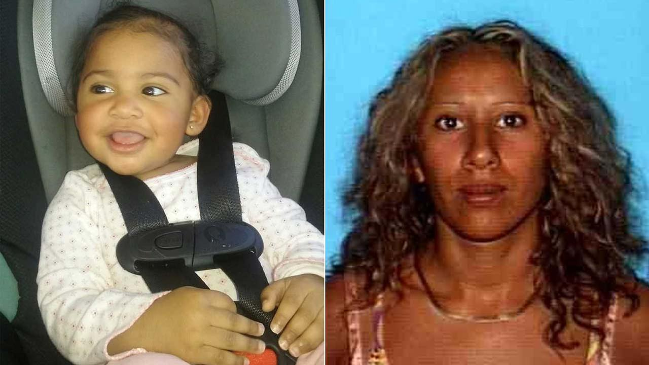 Fifteen-month-old Dana Norris and her mother 34-year-old Maria Camarena are seen in undated photos.