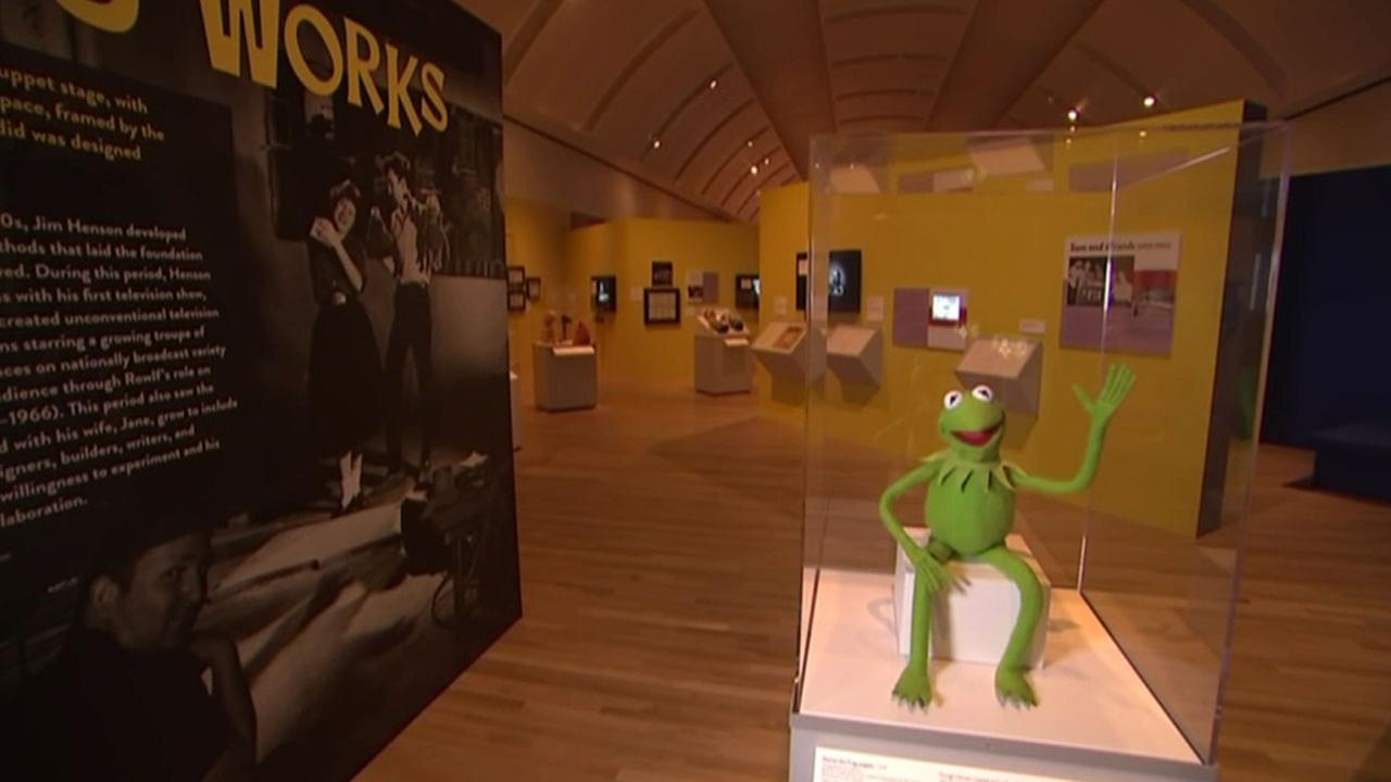 The Jim Henson Exhibition: Imagination Unlimited shows the artistic evolution of the award-winning puppet pioneer Jim Henson, including his Muppet characters.