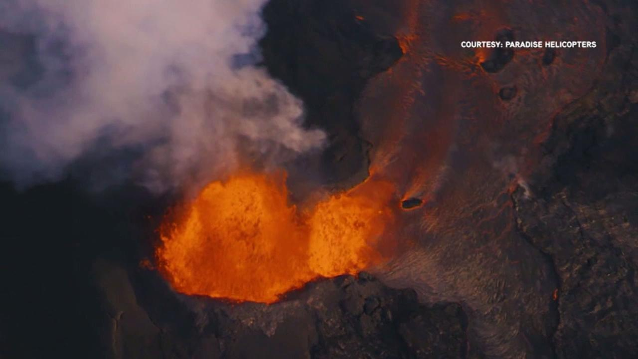 Lava from Hawaiis erupting Kilauea volcano has destroyed more than 100 homes in a rural Big Island district.