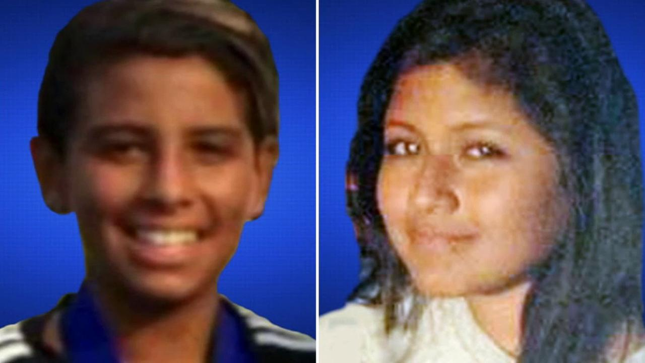 Matthew Melo, left, and Jenny Campos, right, are shown in this undated file photo.