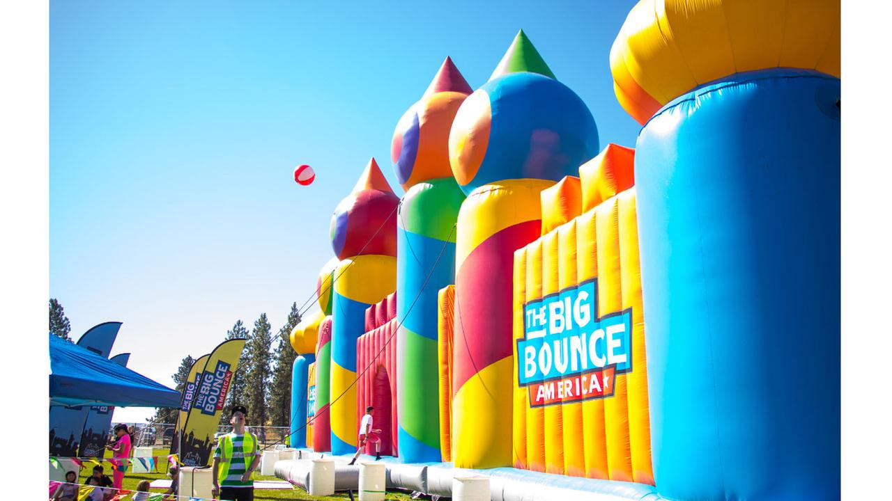 Featuring 10,000 square feet of inflatable elation, The Big Bounce America will visit Fairplex in Pomona from June 22-24.