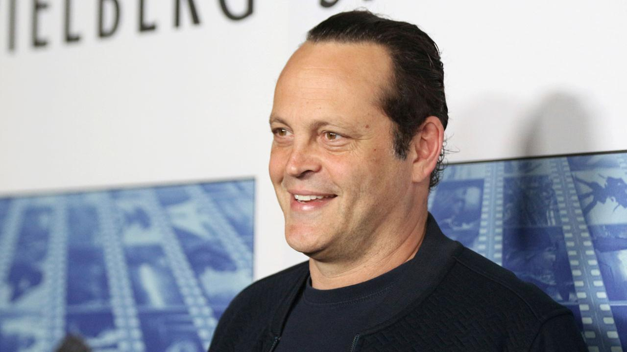 Vince Vaughn arrives at the Los Angeles premiere of Spielberg at Paramount Studios on Tuesday, Sept. 26, 2017.