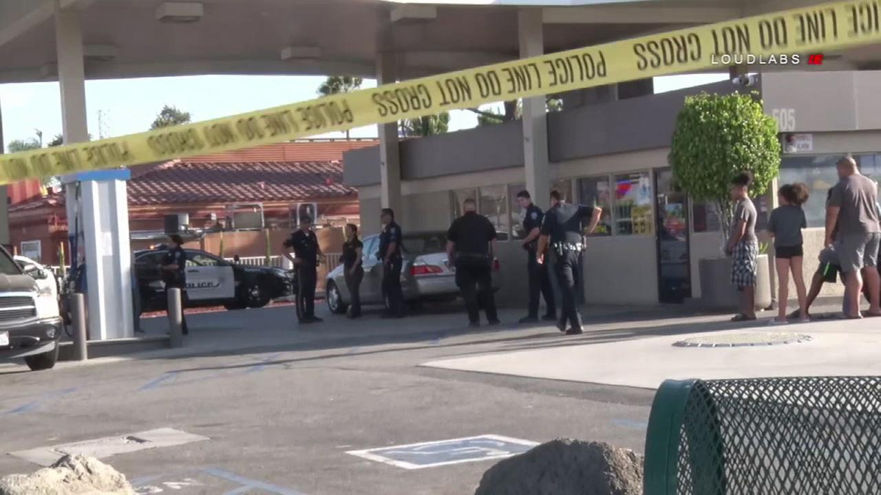 According to the SB Police Department, the clerk was shot after he refused to give money to a robbery suspect.