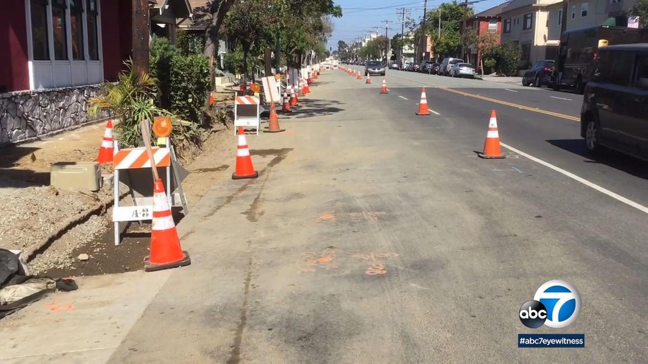 Work has begun on a massive overhaul of the Broadway Corridor in Long Beach.