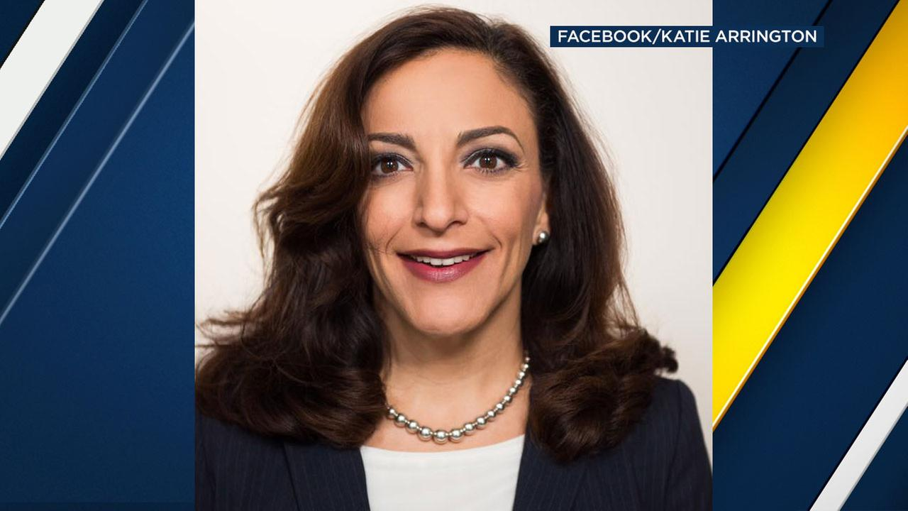 U.S. House candidate Katie Arrington, who beat Rep. Mark Sanford for his re-election bid, is shown in a candidate photo from her Facebook page.