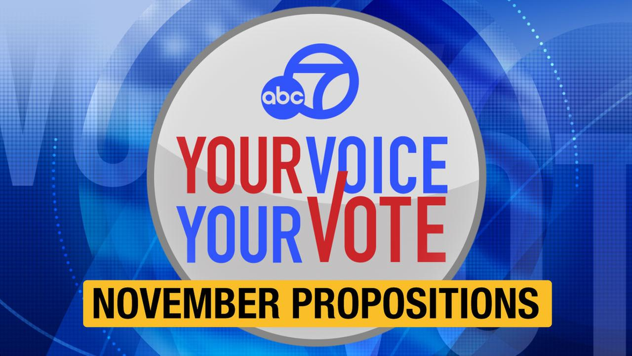 California propositions explained