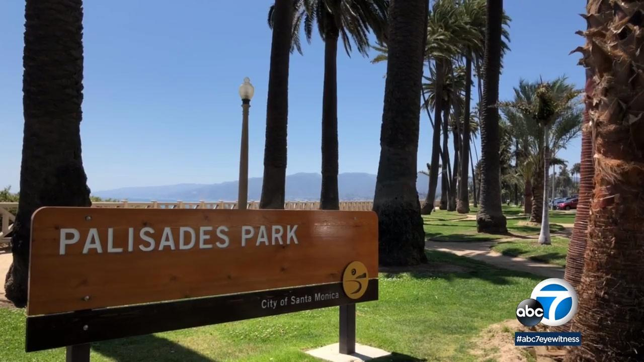 The sprucing up of Palisades Park in Santa Monica is just in time for summer.