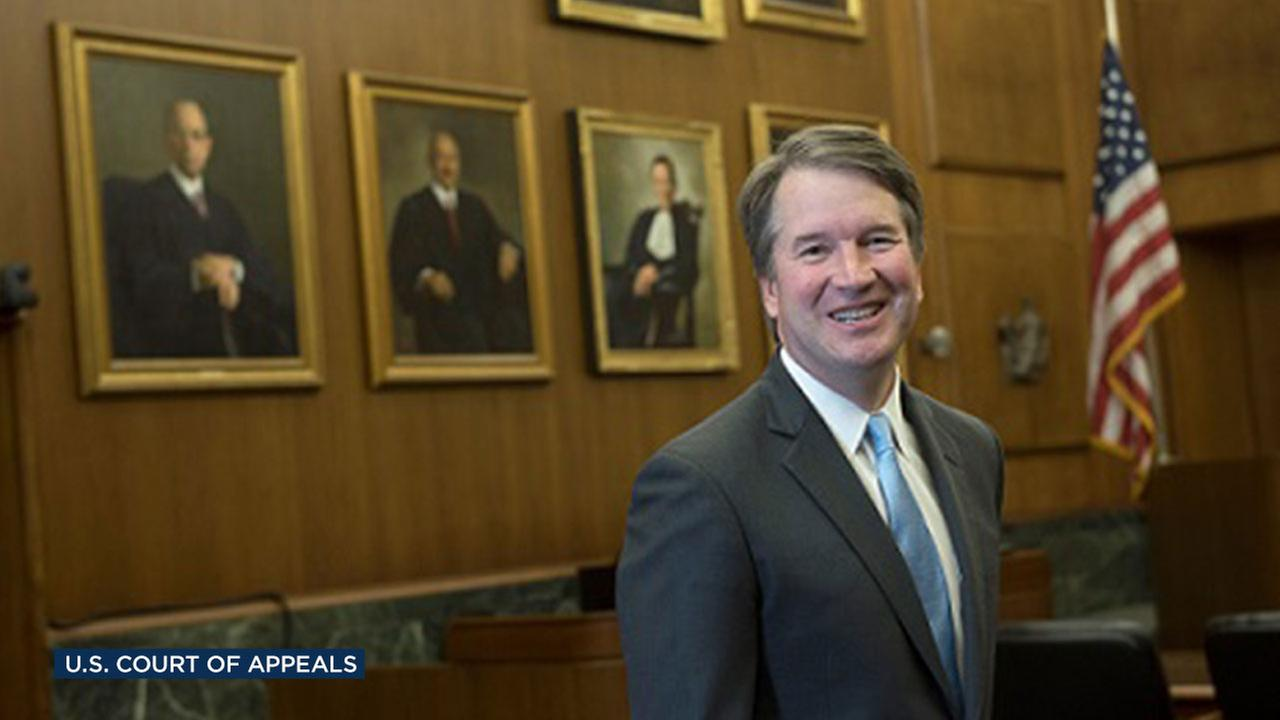 Judge Brett Kavanaugh of the U.S. Court of Appeals for the D.C. Circuit.