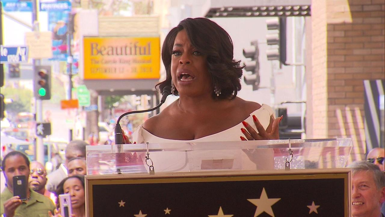 Actress Niecy Nash joined the ranks of Hollywood Walk of Fame honorees on Wednesday as she was presented with her own star.