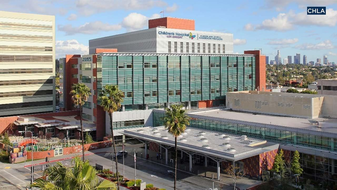 File photo of Childrens Hospital Los Angeles.