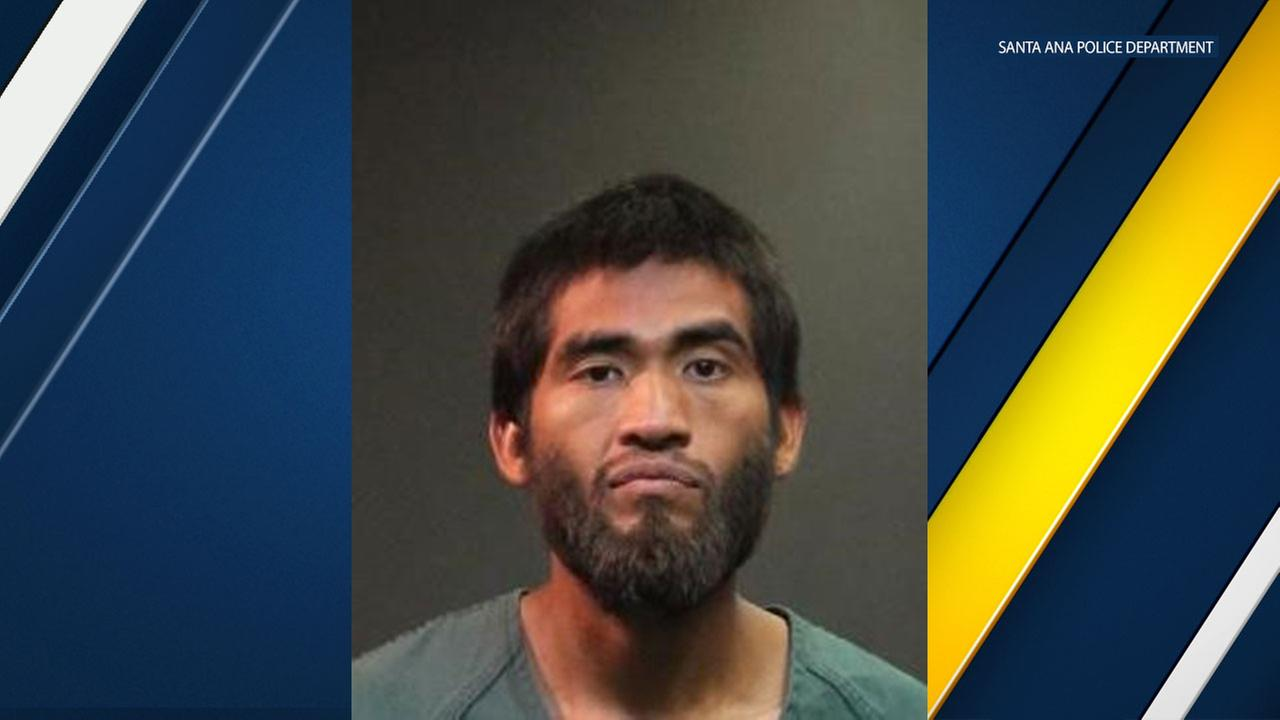 Homeless man Gustavo Garcia, 26, is facing multiple felony arson charges.