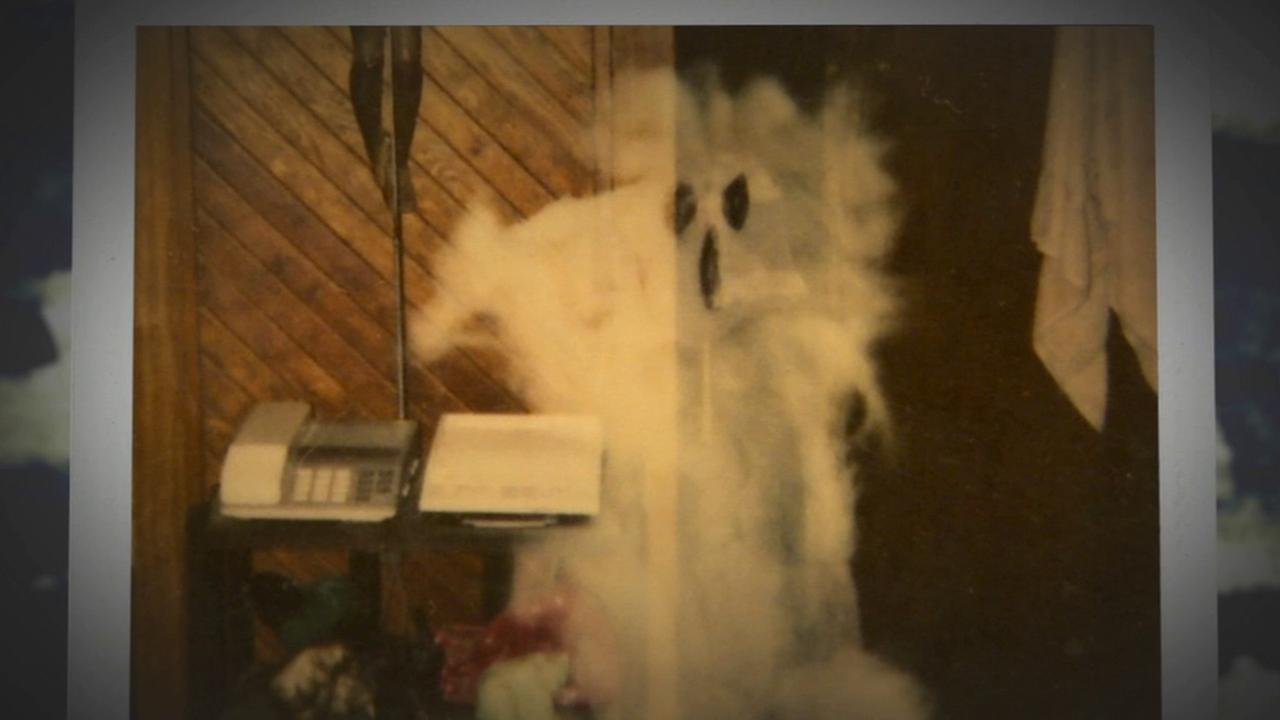 A Poloroid shot at a Glassell Park house depicts a ghost.