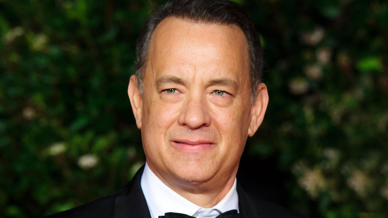 Tom Hanks arrives for the British Academy Film Awards 2014 After Party at the Grosvenor Hotel, in central London, Sunday, Feb. 16, 2014.