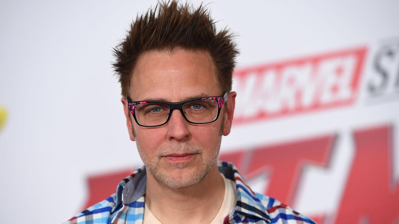 James Gunn arrive at the Los Angeles premiere of Ant-Man and the Wasp at El Capitan Theatre on Monday, June 25, 2018.
