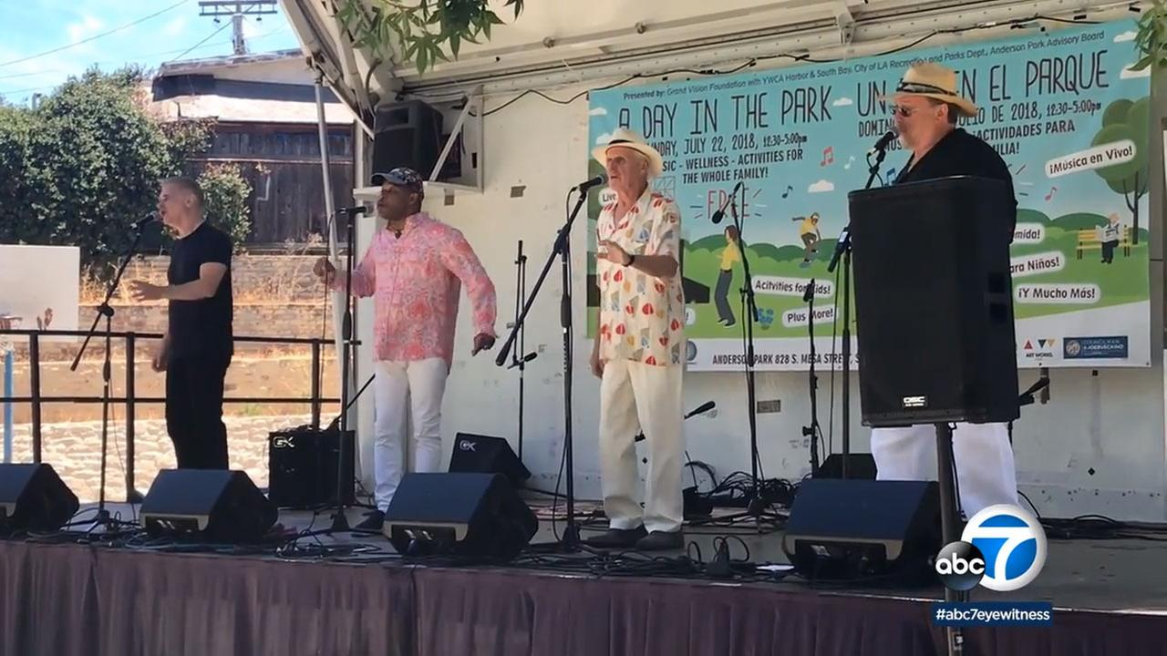 The 100-year-old Anderson Park and Senior Center hosted A Day in the Park.