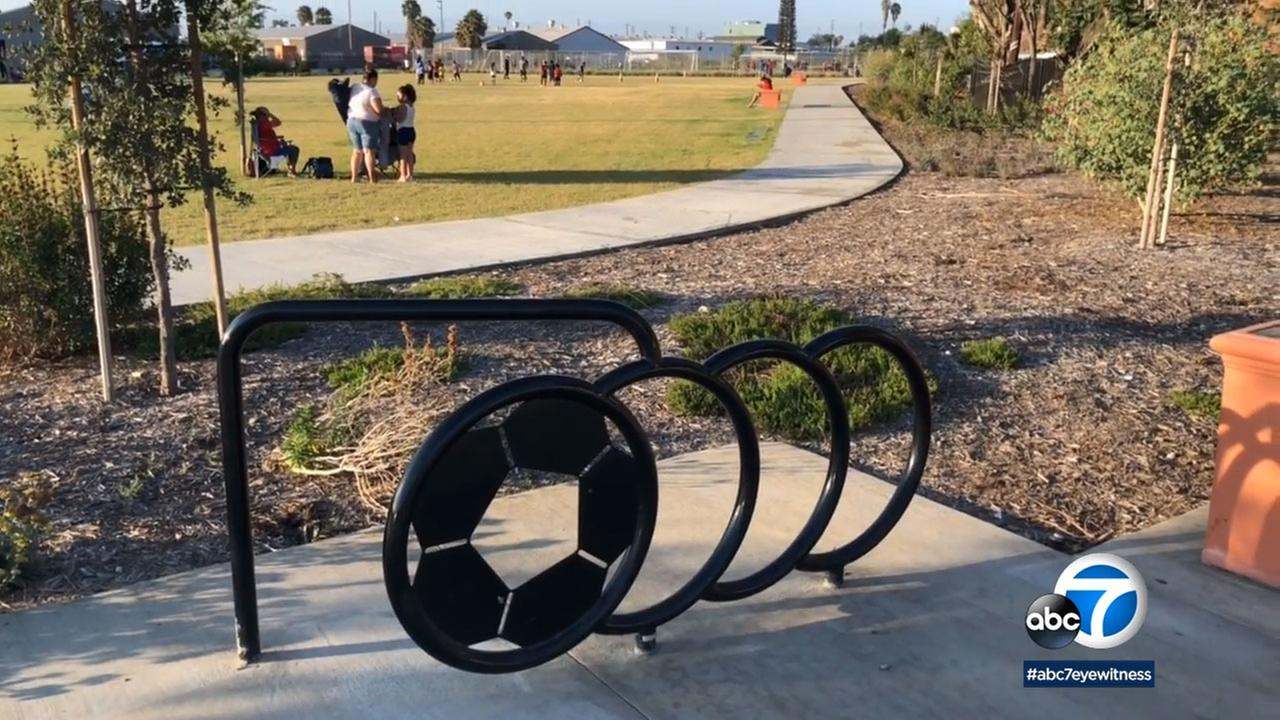The Drake Chavez Greenbelt took an abandoned area and turned it into an active park with landscaped open space, walking trails and picnic tables.