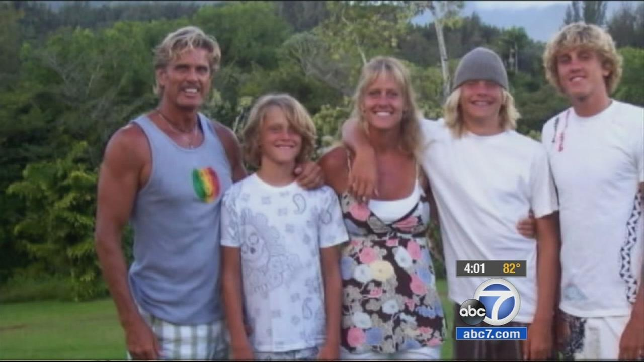 Gavin Smith is seen with his family in this file photo.