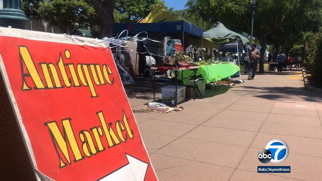 On the fourth Sunday of every month, the streets of downtown Torrance fill with treasure seekers for the Torrance Antique Street Faire, now in its 20th year.