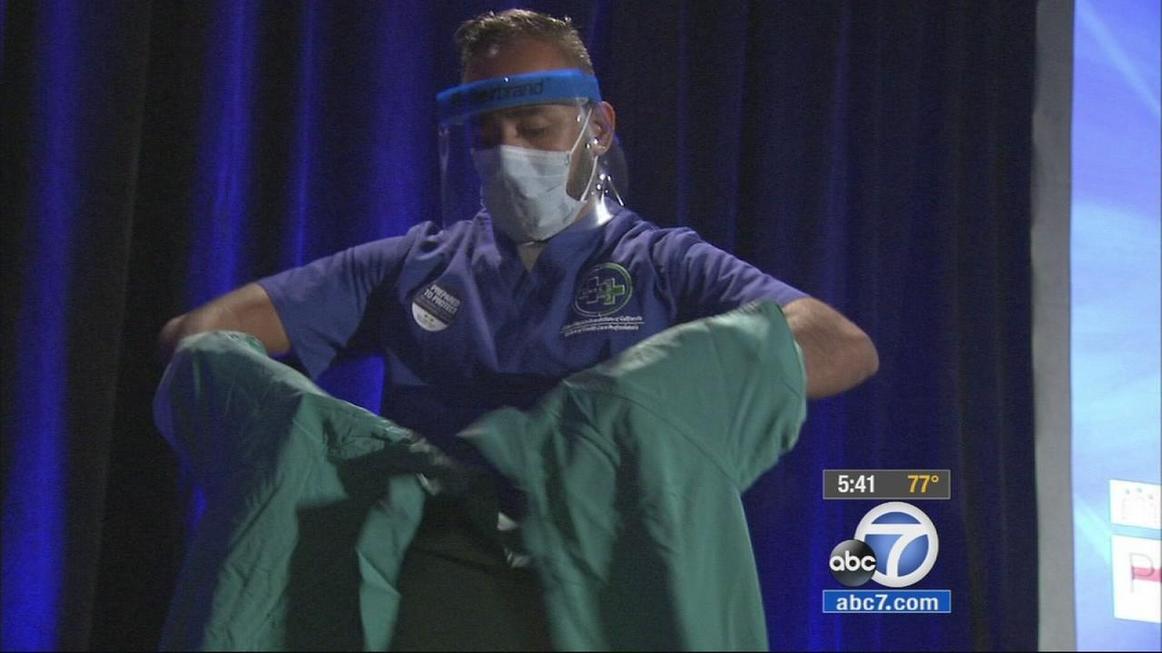 Local health care workers received special training at a seminar Friday to protect themselves when treating patients who may have Ebola.
