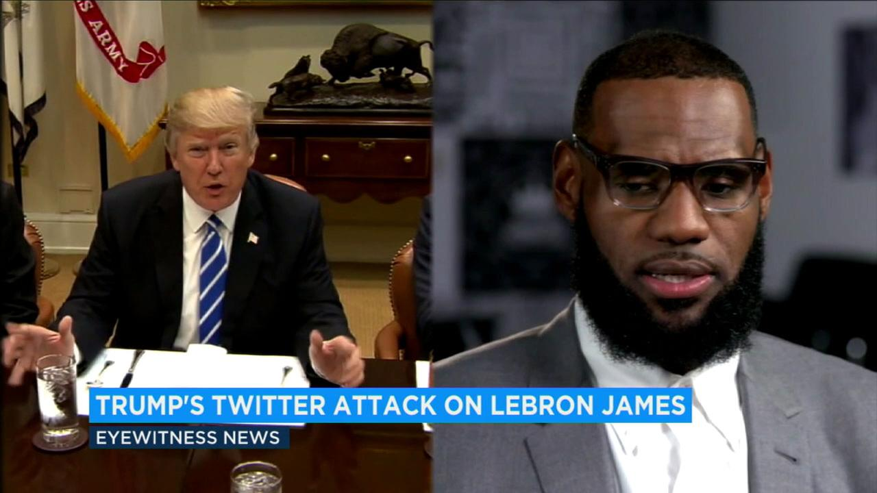 NBA stars and others are coming to the defense of LeBron James after President Donald Trump questioned his intelligence in a tweet.