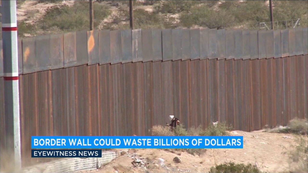 The Government Accountability Office said the Department of Homeland Security faces an increased risk that the Border Wall System Program will cost more than projected, take longer than planned, or not fully perform as expected.
