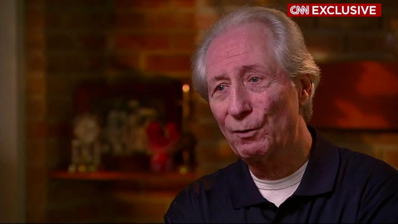 Patrick McStay is seen during an interview with CNN.