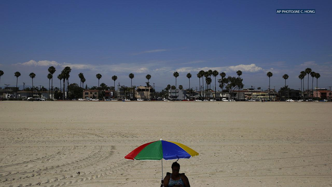 Long Beach tops the list with an average of 210 nice days every year.