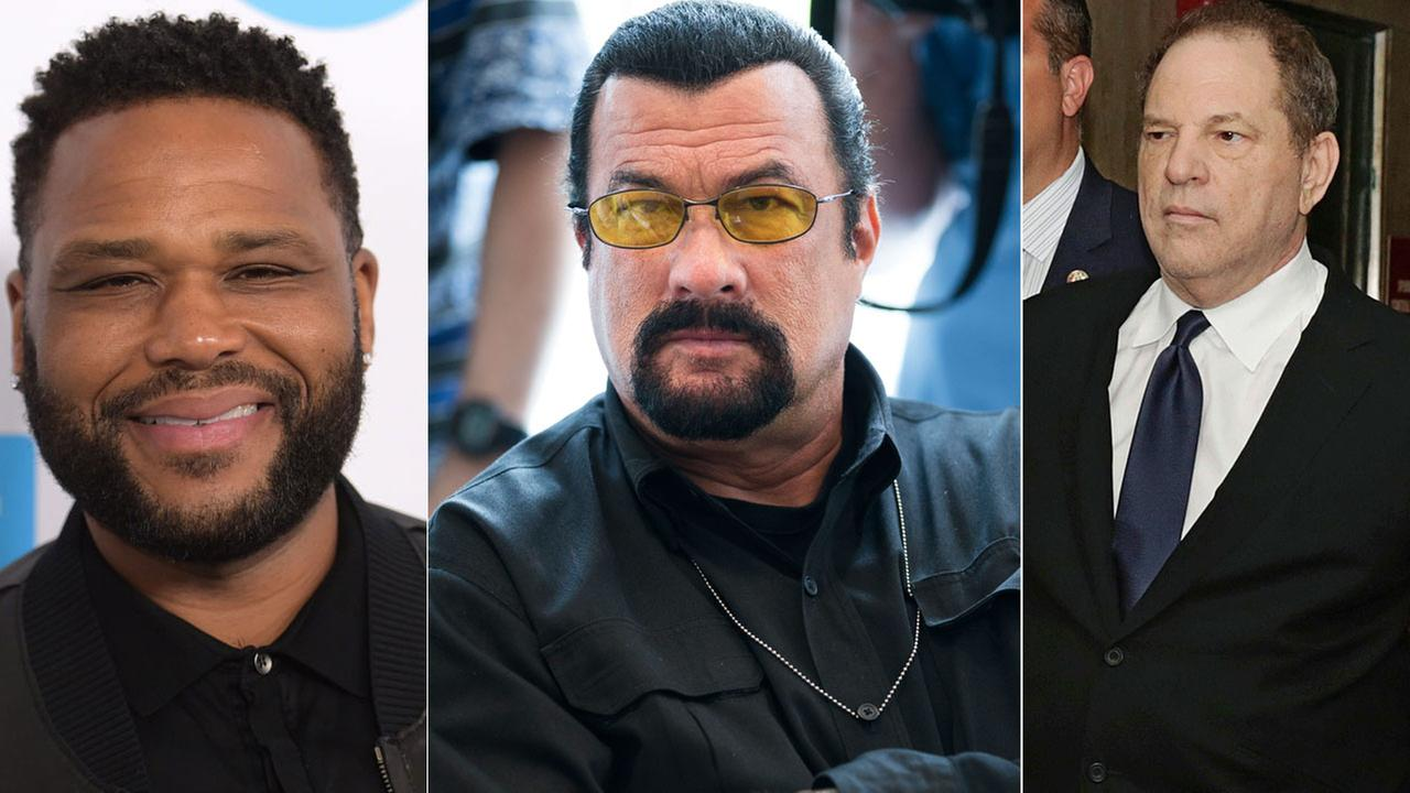 Sex assault cases against Steven Seagal, Anthony Anderson, Harvey Weinstein presented to LA County DA