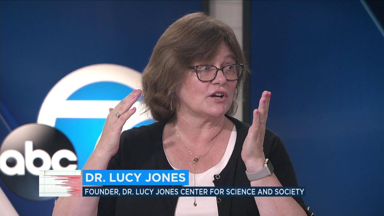 Scientist Dr. Lucy Jones recently joined the Eyewitness New desk to discuss the environmental dangers of carbon emissions.