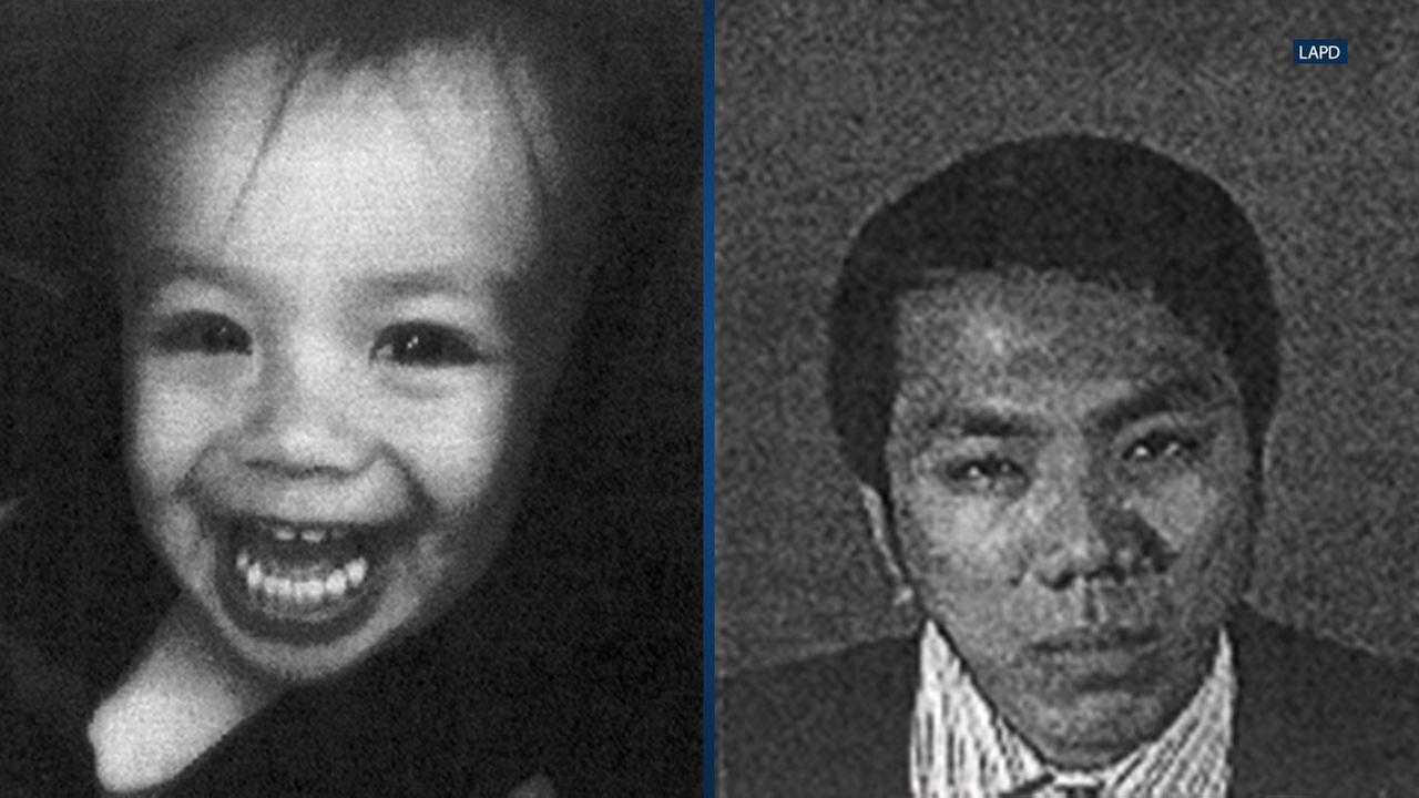 John Jose took his son Jaden from the 9500 block of Laurel Canyon Boulevard around 3:30 p.m. without consent from the boys biological mother, according to the LAPD.