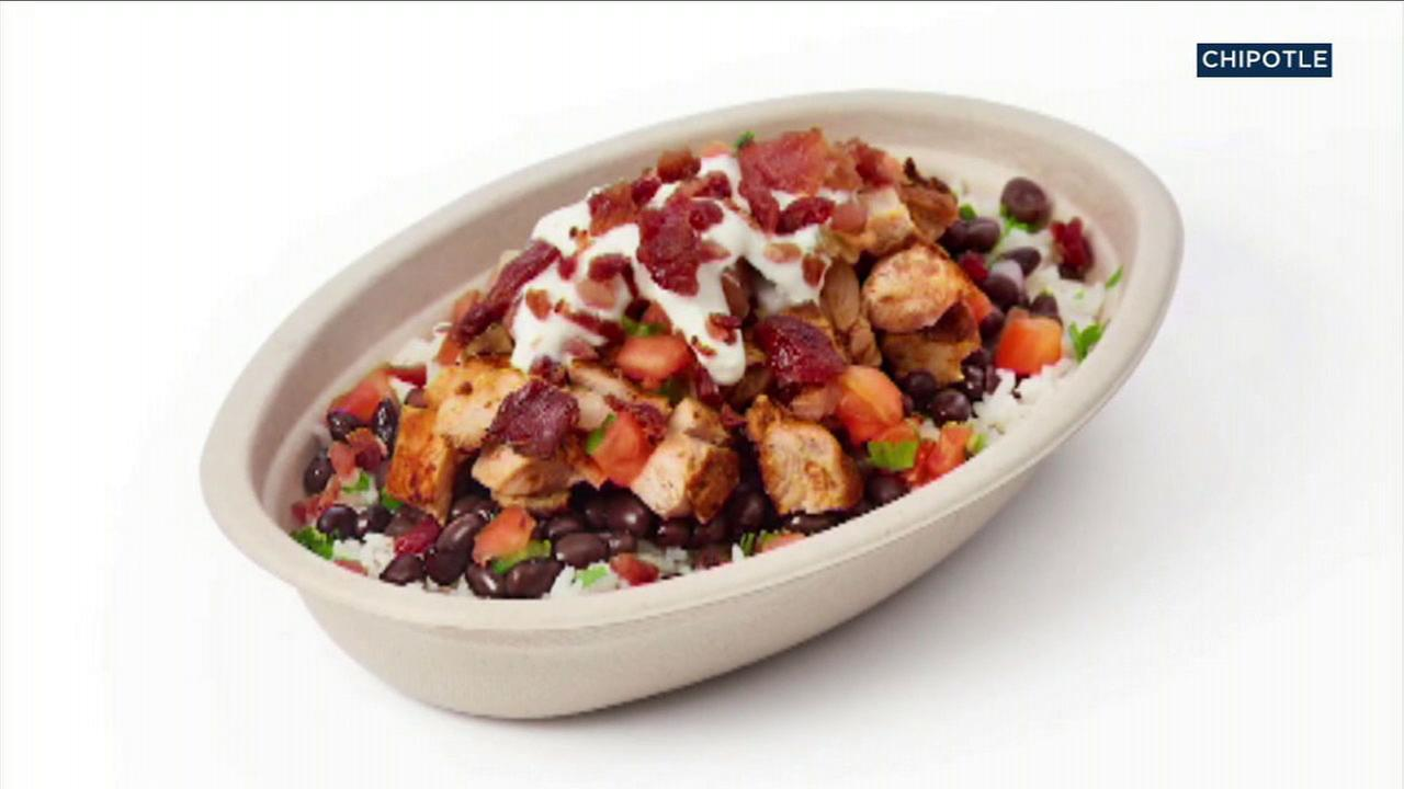 Chipotle will offer bacon with their burritos and bowls next month in select Orange County locations as part of an effort to win back customers.