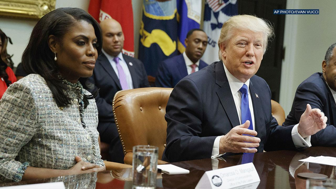 Omarosa claims without evidence that tapes exist of the president repeatedly using the N-word.
