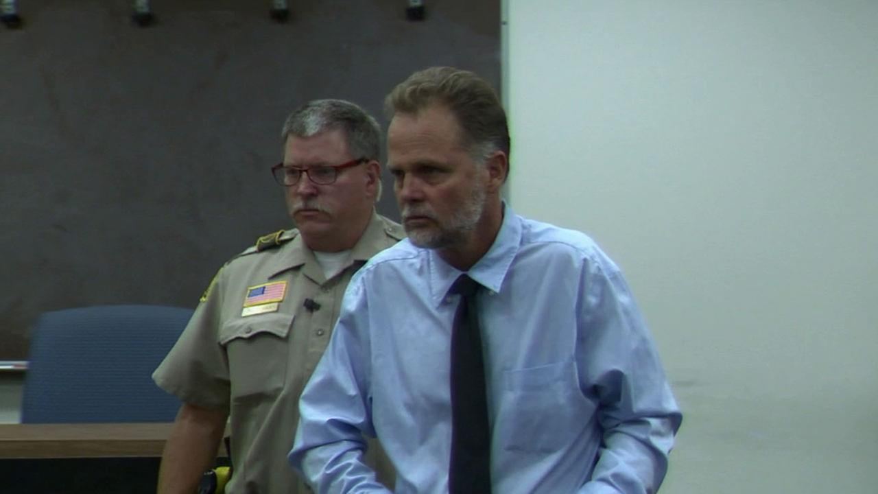 Charles Chase Merritt, 57, plead not guilty to murder charges during a brief arraignment in San Bernardino Superior Court Wednesday, Nov. 12, 2014.
