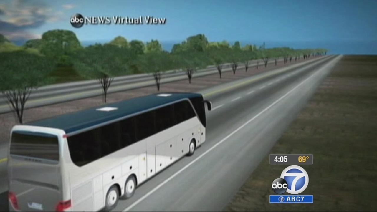 Investigators reenact Northern California fatal bus crash | abc7.com