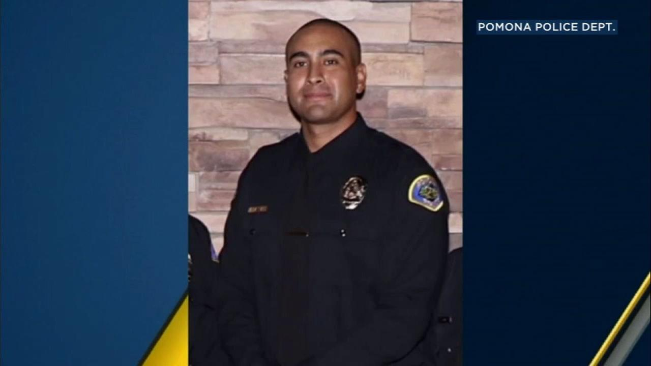Part of the 10 Freeway in Upland will be renamed in honor of Pomona police officer Gregory Casillas who was shot and killed earlier this year.