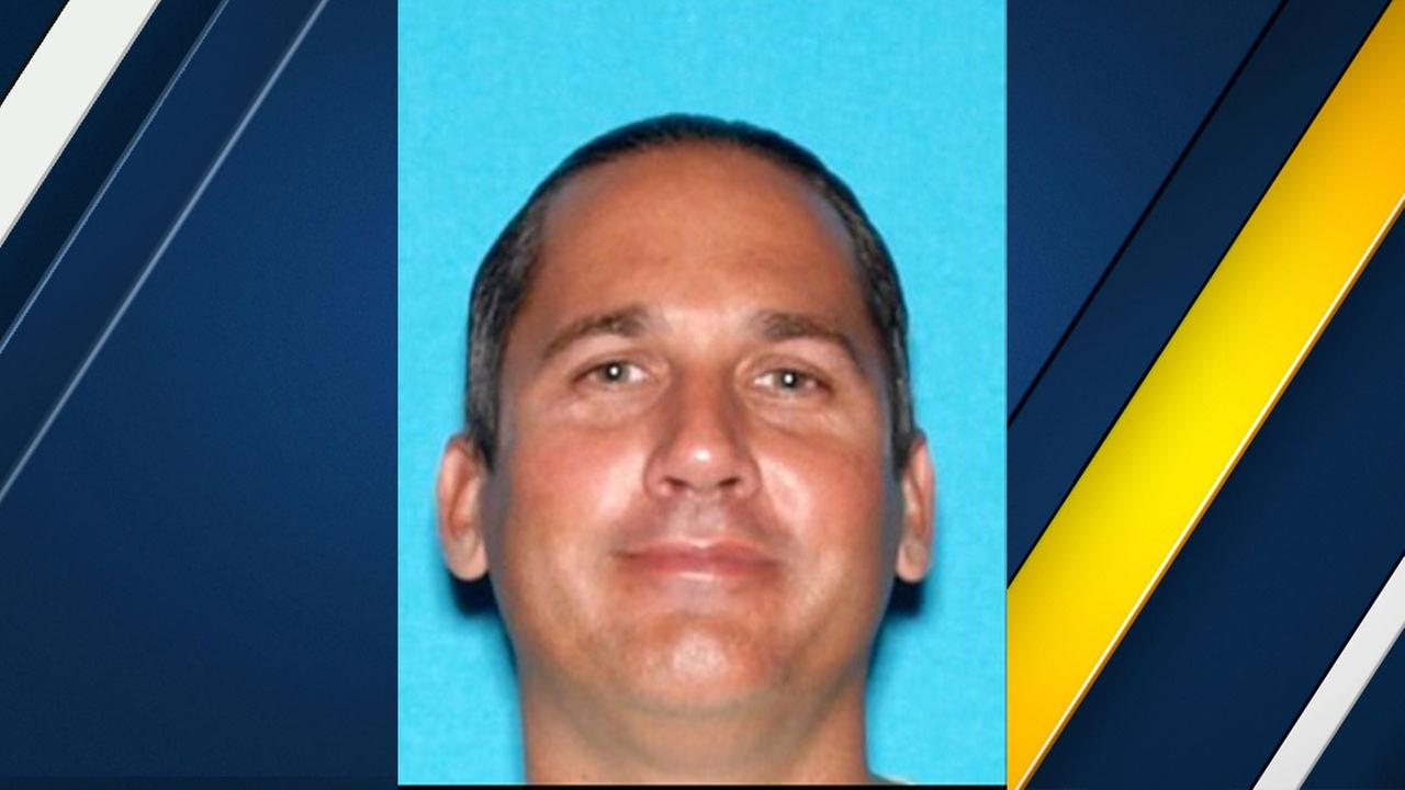 Wayne Stuart Habell, 43, a missing Los Angeles County Fire Department captain is shown in an undated DMV photo.