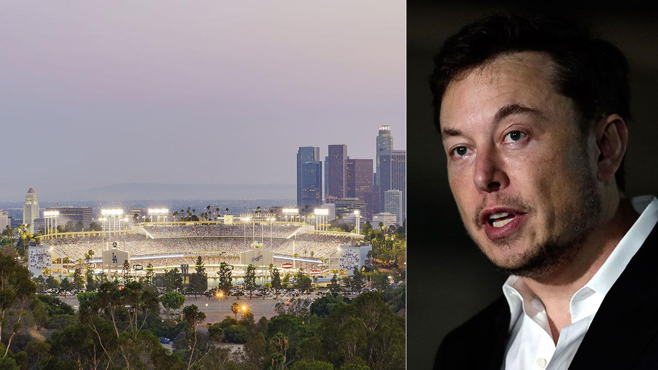 Elon Musk proposes Dodger Stadium tunnel