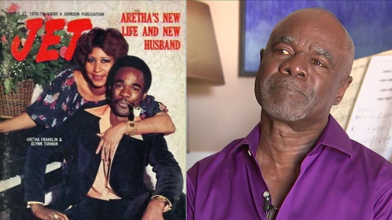 Actor Glynn Turman was married to Aretha Franklin for six years, and is recalling visiting her just days before her death.