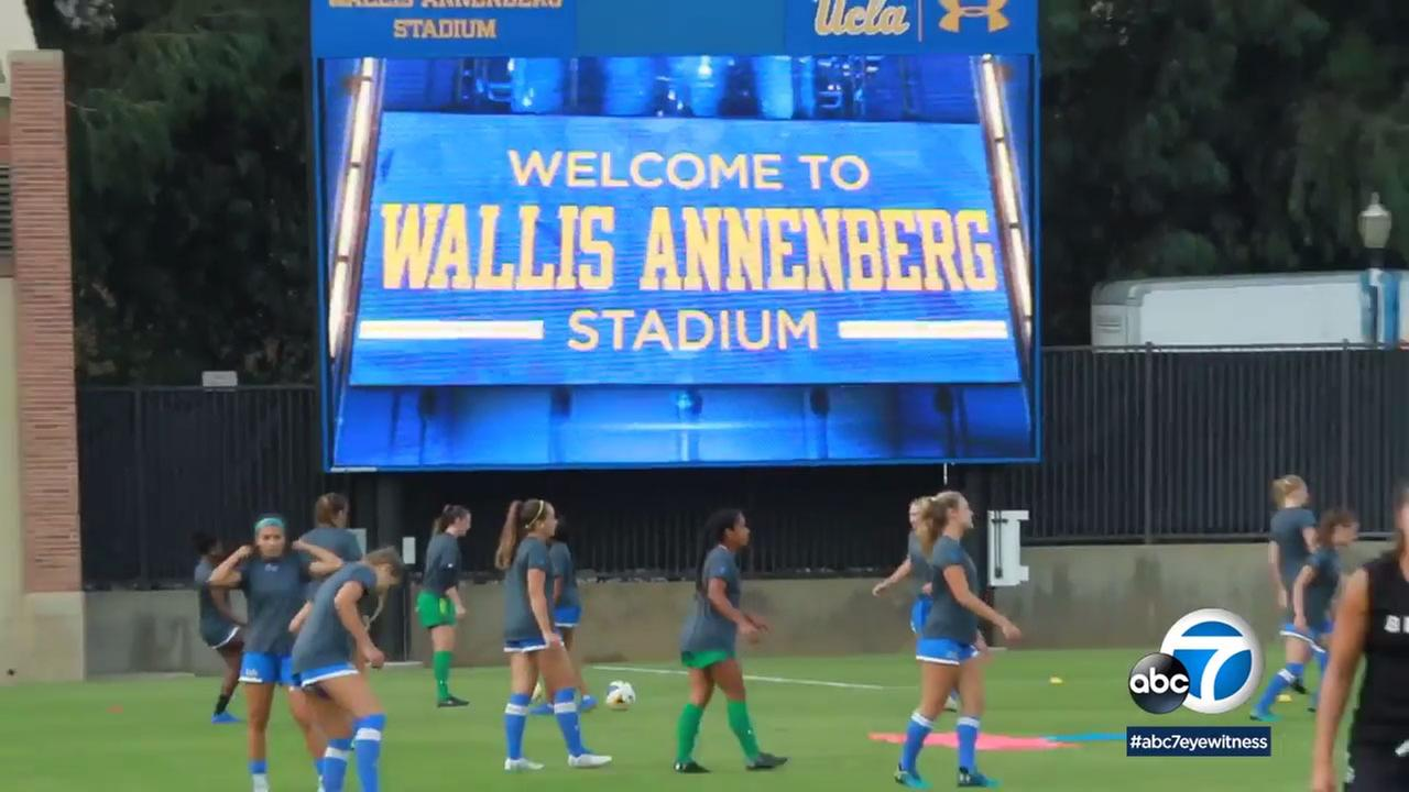 UCLA has a new stadium for mens and womens soccer after a $5 million donation from the Annenberg Foundation.